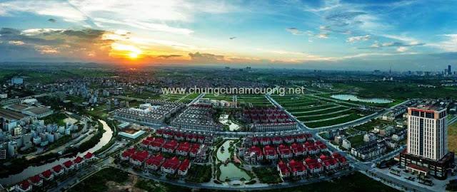 Toàn cảnh khu đô thị Nam Cường