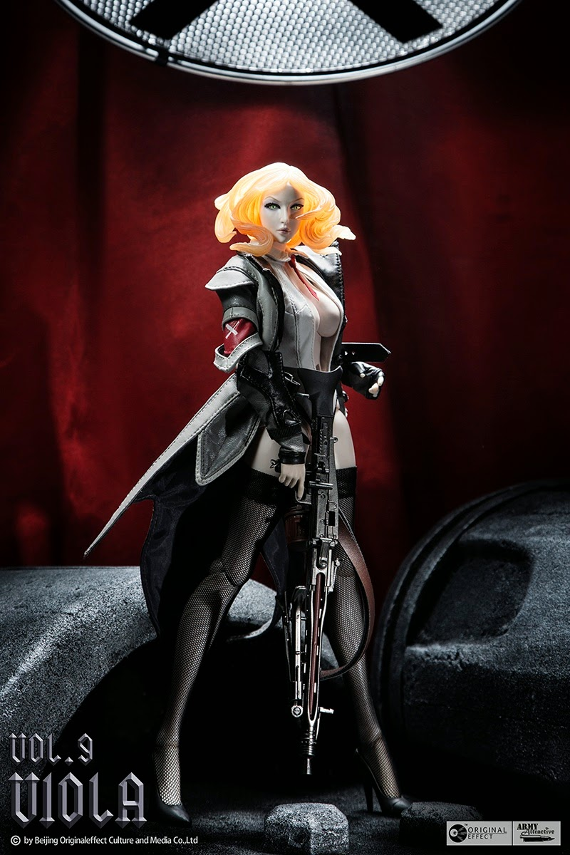 toyhaven: Preview OE (Original Effect): 1/6 scale Army