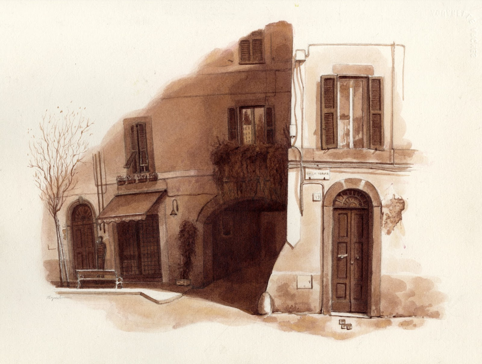 Stumbling Stones | Urban Sketchers