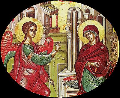 Αποτέλεσμα εικόνας για εικόνα Ευαγγελισμού Θεοτόκου αγιογραφικές  μελέτες