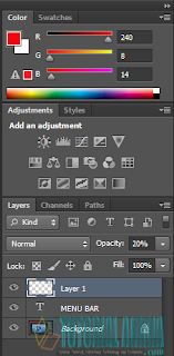 Mengenal Jendela Atau Lembar Kerja Adobe Photoshop