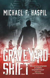 Interview with Michael F. Haspil, author of Graveyard Shift