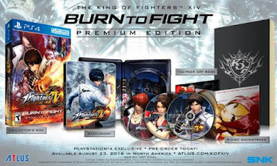The King of Fighters XIV Premium Edition
