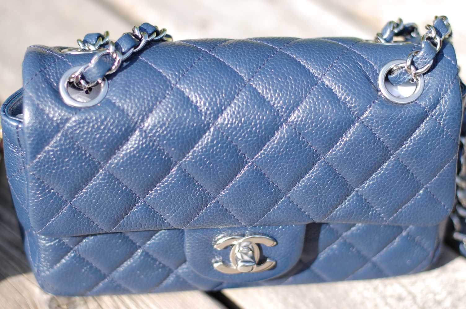 423b9e8445eb Brand: Chanel Style: A65055 (old) New is A69900 Dimensions: 5″H x 7 1/2″W x  2 1/2″D Chain drop: 23 1/2