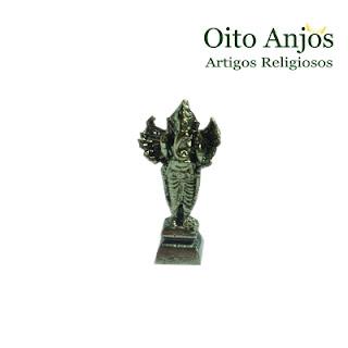Imagem Ganesha em Pé Metal