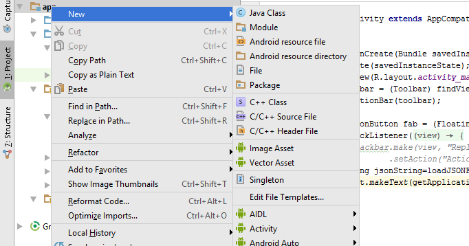 android open json file from assets