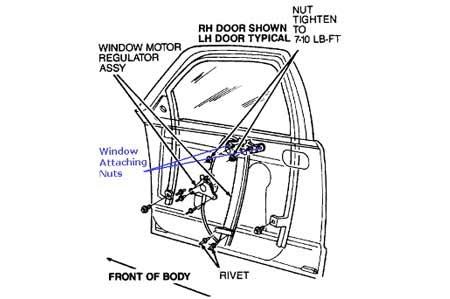 wiring diagram power window timor