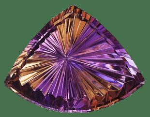 ametrino bolivianita gema   foro de minerales