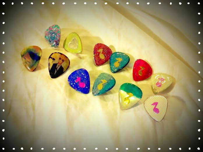 Guitar Pick Pins