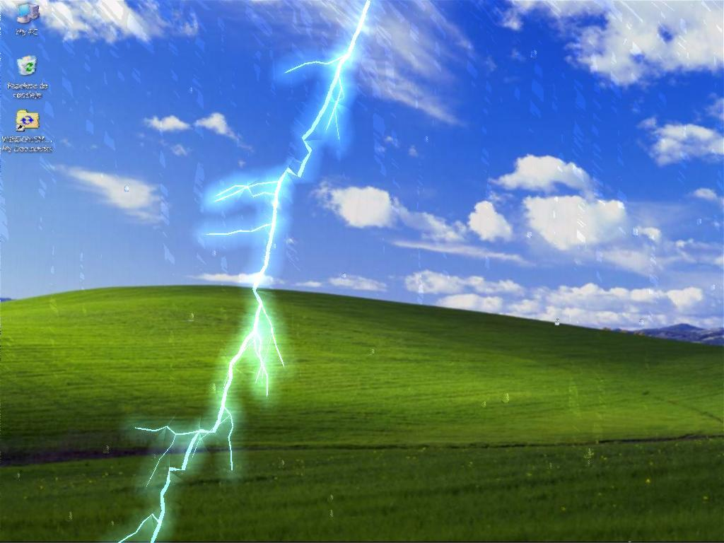 Rain screensaver download