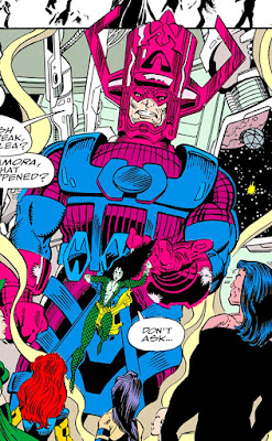 Galactus en La Guerra del Infinito