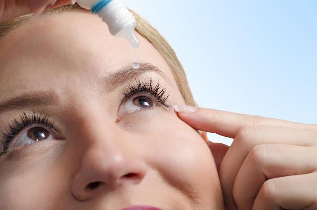 علاج جفاف العين بالاعشاب.