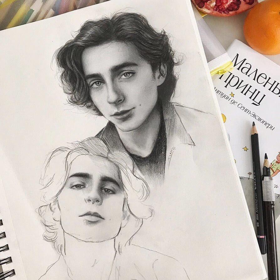 12-Marat-Utamuratov-WIP-Realistic-Portrait-Sketches-www-designstack-co