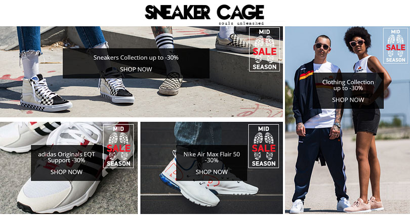 Sneaker Cage - sale