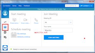 Cara Menggunakan TeamViewer Untuk Rapat Secara Online