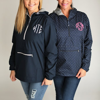 monogram jersey lined
