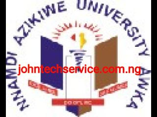 UNIZIK Post-UTME Form Not Yet On Sale 2017/2018