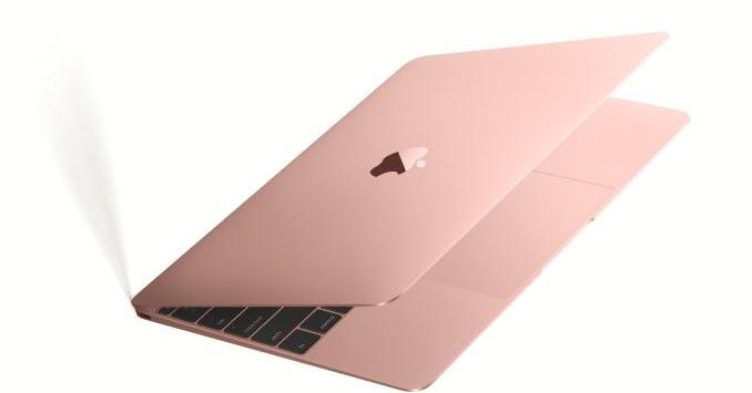 Apple Lancia Un Nuovo Computer Portatile Rosa