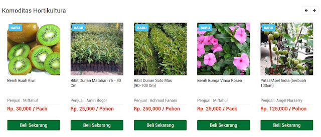 Fitur Jual Bagi Petani Untuk Menjual Produk
