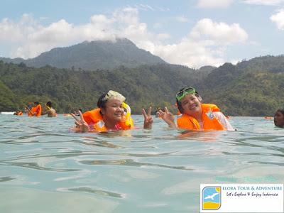 snorkeling di pulau kiluan