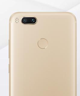 Xiaomi A1 Dual Camera Design