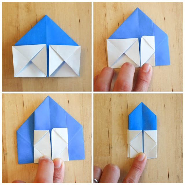 how to fold origami troll dolls- such a great kids craft