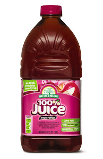 A stock image of Nature's Nectar 100% Juice Fruit Punch, from Aldi