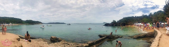 Praia Azeda e Azedinha em Búzios