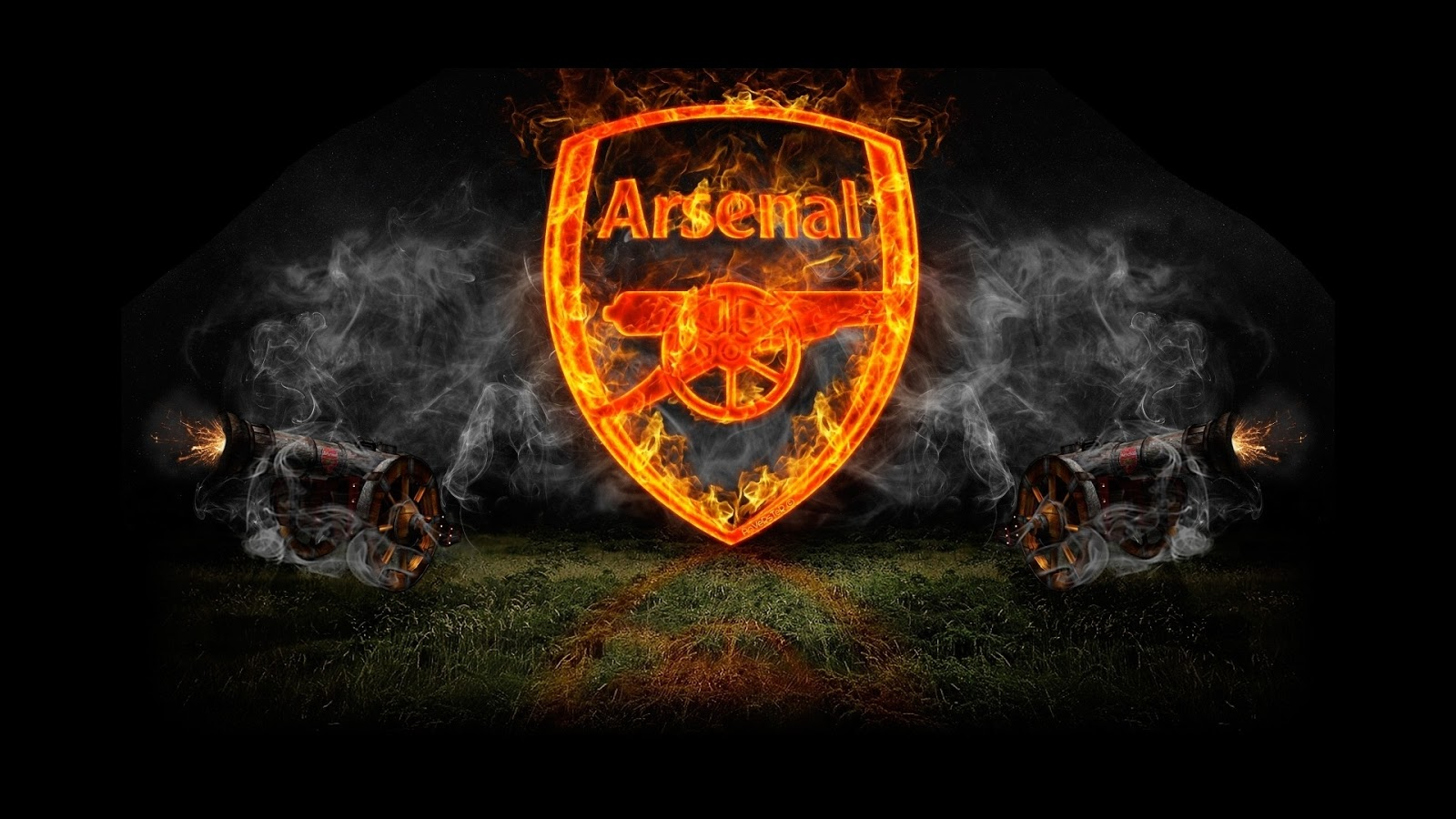 Arsenal Fc Logo: Wallpapers Hd For Mac: Arsenal Football Club Logo Wallpaper HD