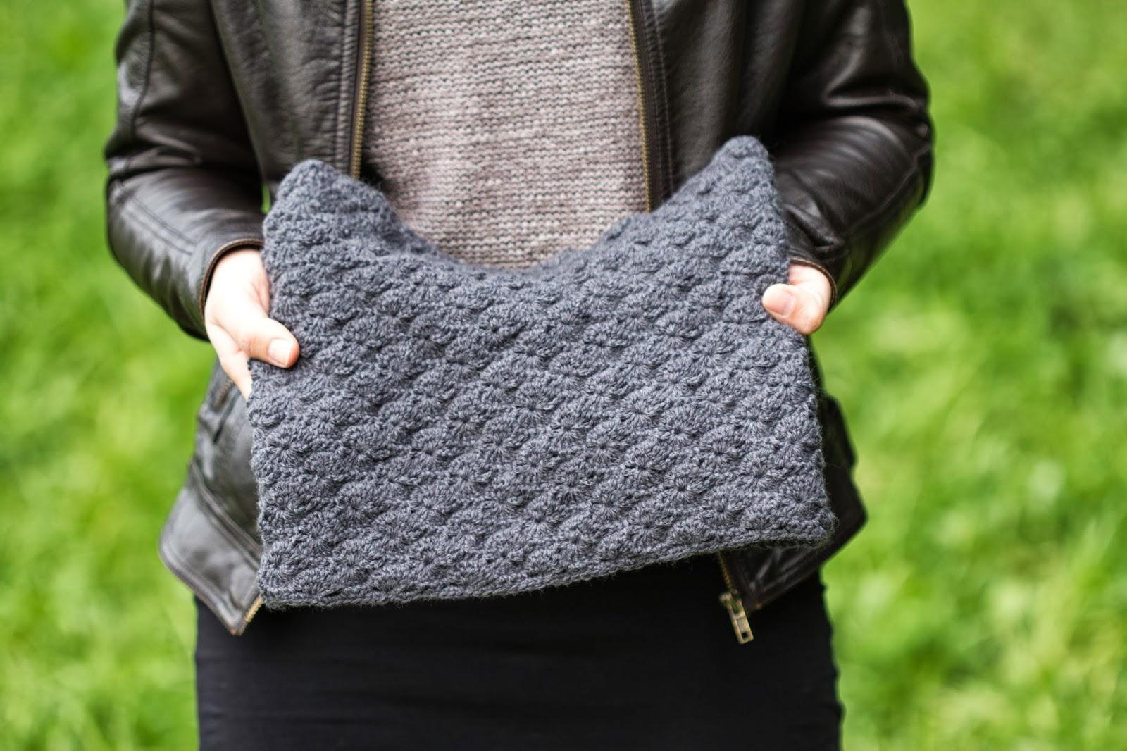 Crochet Loop Scarf | Infinity Scarf | Gehäkelter Schal | Anleitung für einen gehäkelten Loop Schal