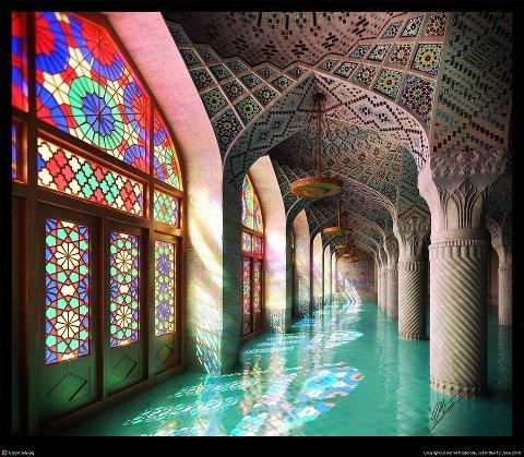 Life In Color Nasir Al Mulk Mosque
