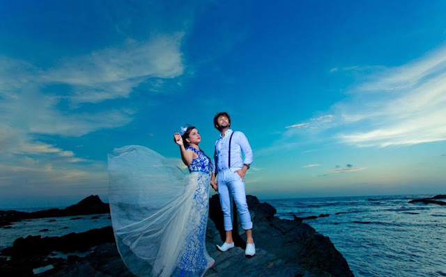 Couple Photoshoot on the Goa Beach