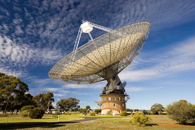 Parkes Radio Telescope in Australia