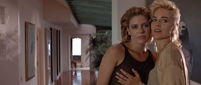 Leilani Sarelle Sharon Stone Basic Instinct 1992 movieloversreview.filminspector.com