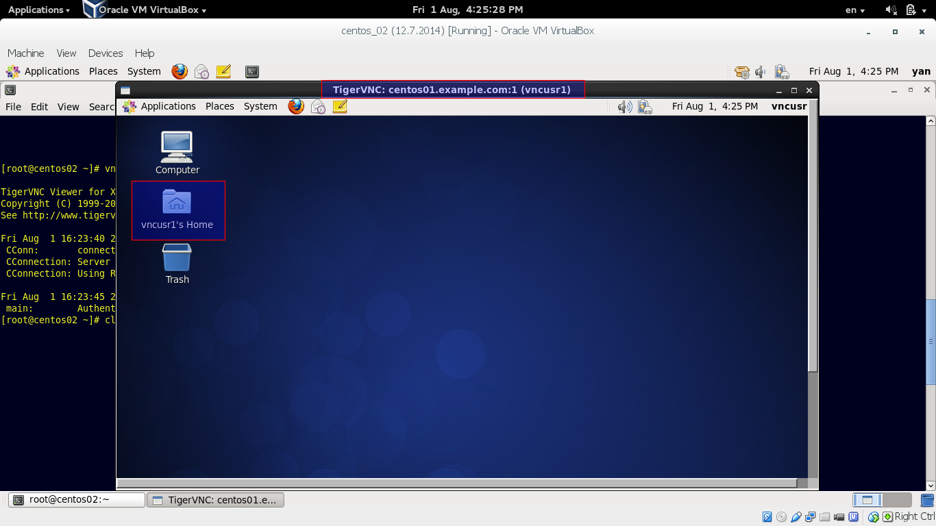 Configure Access with VNC
