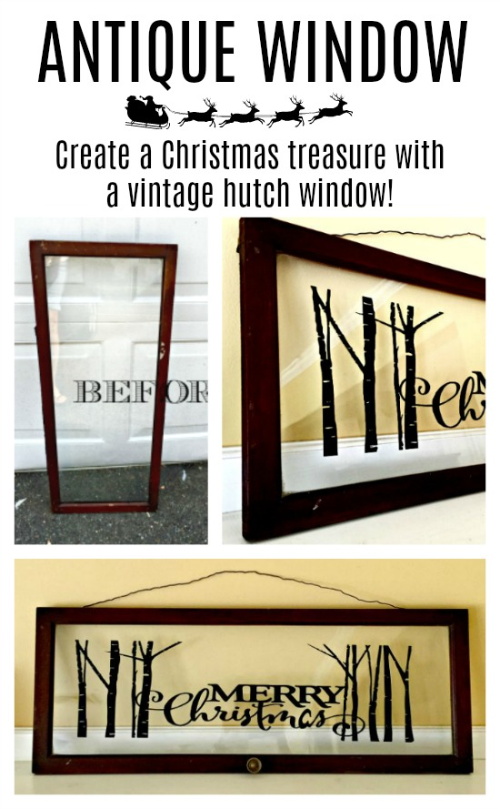 Pinterest pin collage of decorative window pics