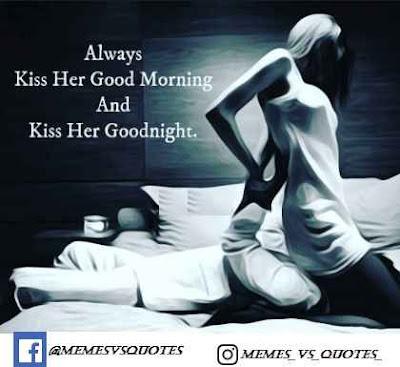 Kiss Her Good Morning