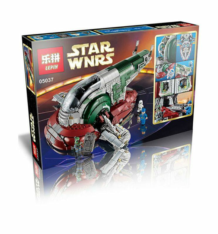 Boba Fetts Slave I Being Released By Lepin