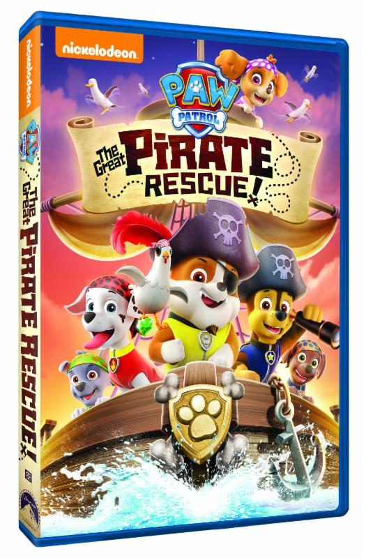 Paw patrol the great pirate rescue on dvd mommy katie paw patrol the great pirate rescue to review i was excited to share it with my little paw patrol fan so he could add it to our family movie night fandeluxe Gallery