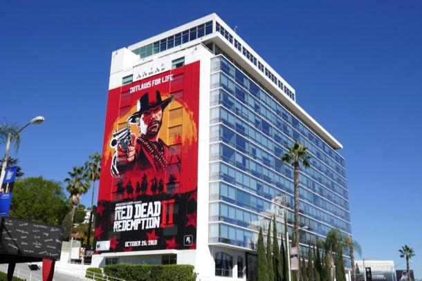 Red Dead Redemption II billboard
