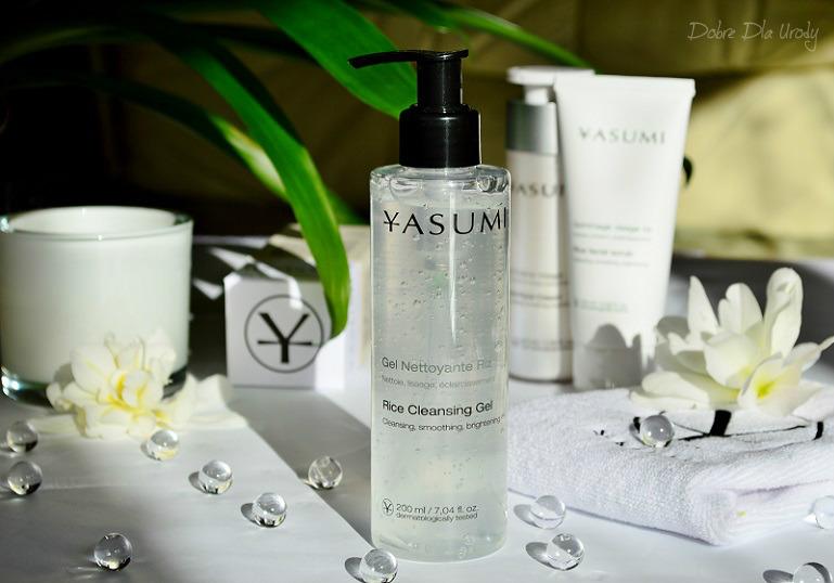 Yasumi Rice Cleansing Gel - Oczyszczający żel do mycia twarzy