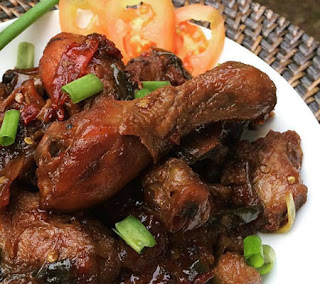 Resep Ayam Kecap Pedas Gurih | Resep Masakan Nusantara Lengkap Komplit ...