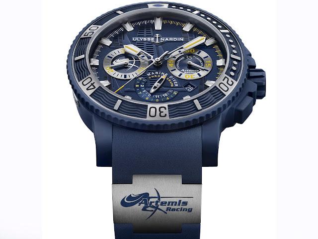 Uysse Nardin Diver Chronograph Artemis Racing
