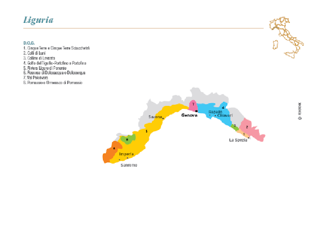 wine region of Liguria