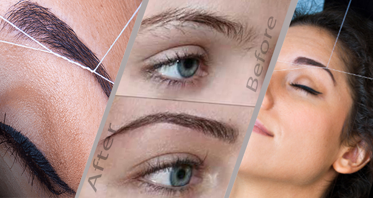 How eyebrow threading can change your face divas brow here some reason of eyebrow threading can change your face solutioingenieria Choice Image