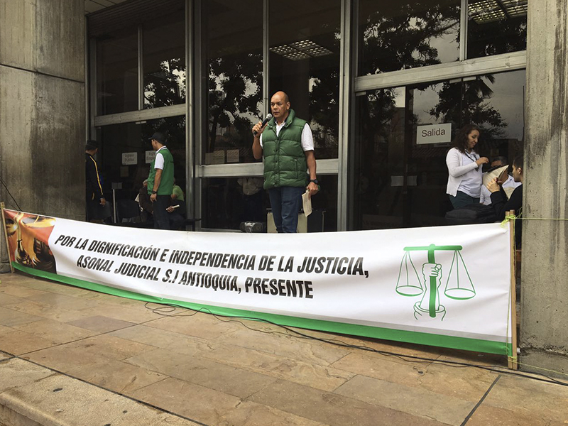 Asonal Judicial SI Antioquia: El Gobierno sigue sin resolver necesidades de la rama judicial