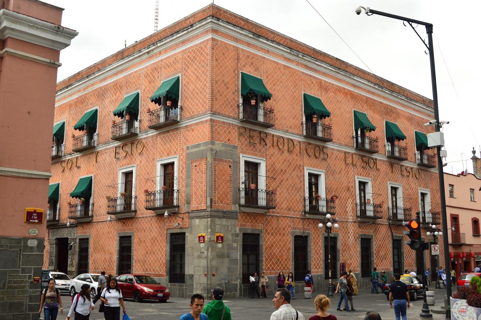 Oficinas de El Sol de Puebla o Casa del que mató al animal