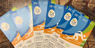 Rio 2016 Olympic Tickets for Five Popular Events Available For Up To US$15