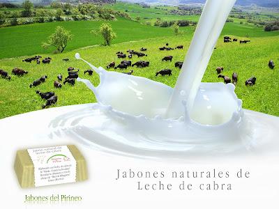 Jabón Natural de Leche de Cabra