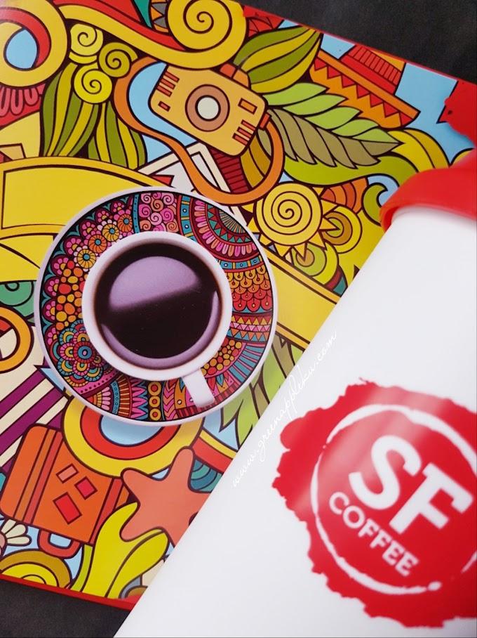 San Francisco Coffee (SF Coffee) cawangan pertama di Gurney Plaza, Pulau Pinang.